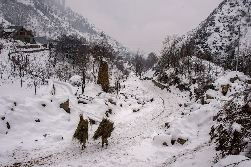Drass Coldest in J&K and Ladakh, Records Minus 24.3 Degree Celsius - News18