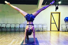 Malaika Arora Nails Difficult Headstand, Asks Fans to Try