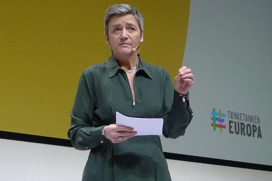 File photo of Margrethe Vestager, European Commissioner for Competition.