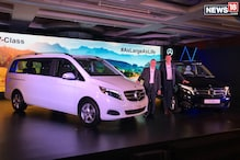Mercedes-Benz V-Class Luxury MPV launched in India, Prices Start From Rs 68.40 Lakh