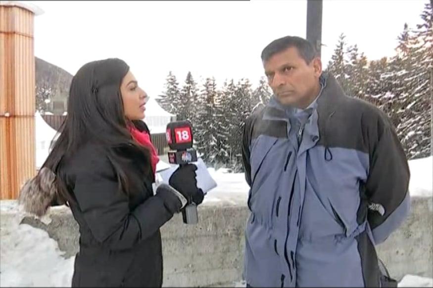 Former RBI Governor Raghuram Rajan speaking to Managing Editor CNBC TV18 Shereen Bhan