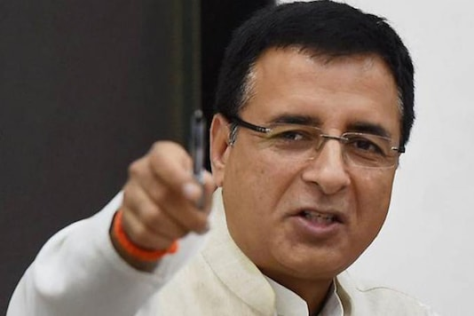 File photo of Congress spokesperson Randeep Singh Surjewala.  (Image: PTI)