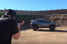 Rezvani Tank Military Edition SUV Tested for Bulletproof Claims in a Shooting Range - See Results in This Video