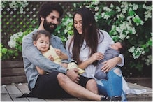 The Year That Made Us Complete: Mira Rajput Shares an Adorable Family Picture With Shahid, Misha and Zain