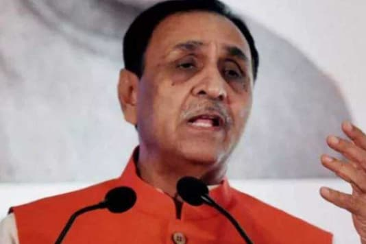 File photo of Gujarat CM Vijay Rupani.