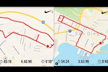 This Woman Draws D**ck Pics on Her Running App to Mark the Routes She has Taken