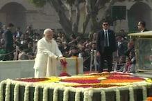 Nation Remembers Mahatma Gandhi on His 71st Death Anniversary, Kovind, Modi Pay Homage at Delhi's Rajghat