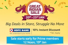 Amazon Great Indian Sale: Deals on Xiaomi Redmi Y2, Samsung Galaxy S9, Honor Play and More