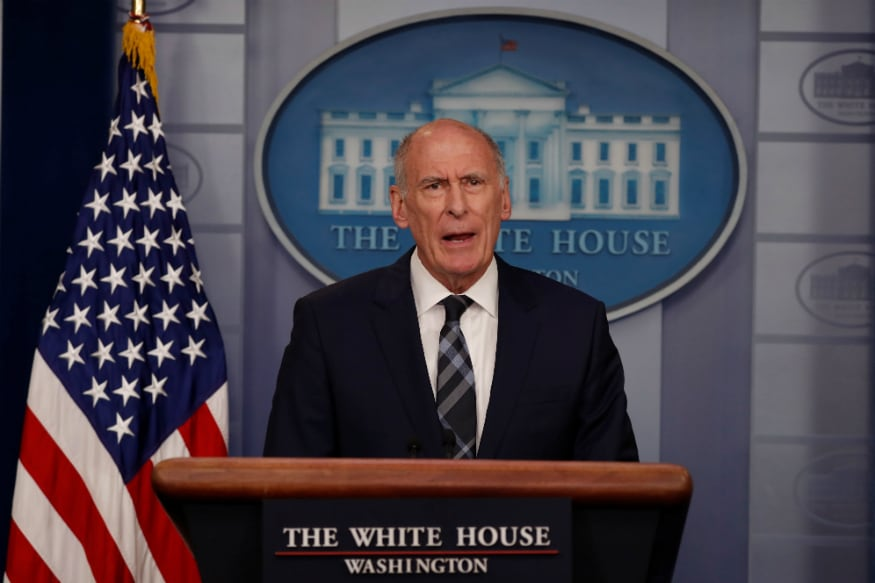 File photo of Dan Coats, Director of National Intelligence in the US.