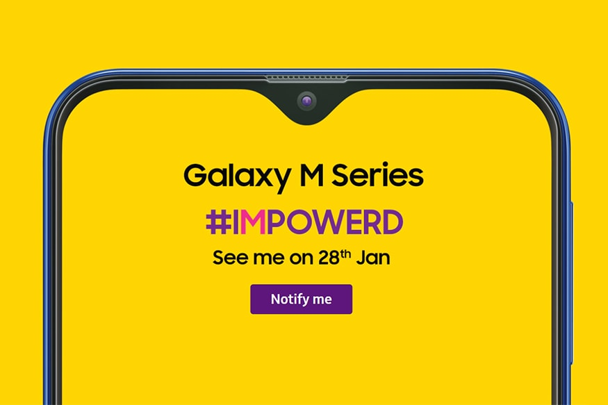Samsung Galaxy M Series to Launch in India on January 28