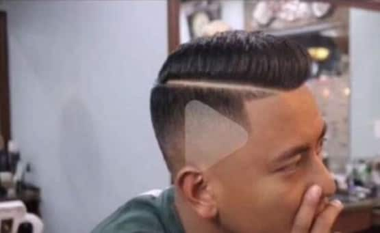 Barber Accidentally Styles Play Button After Chinese Man Shows Him