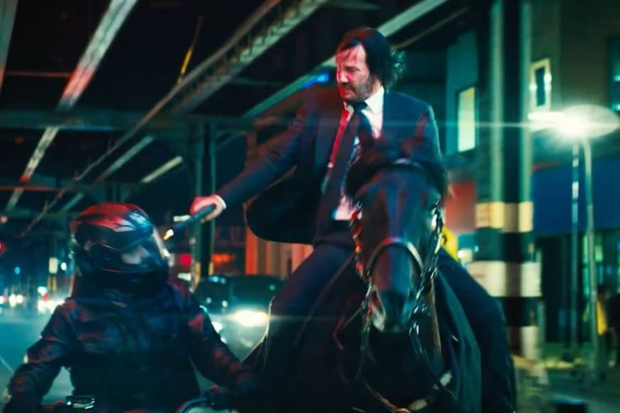 John Wick: Chapter 3 – Parabellum Trailer Out, They Touched Keanu Reeves' Dog and He will  'Kill Them All'