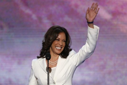 File photo of Kamala Harris (Reuters).