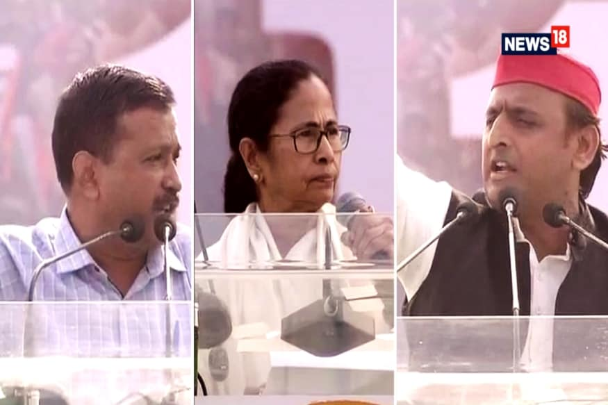 Who Said What At Mamata's Opposition Rally: Highlights Of United India Against BJP