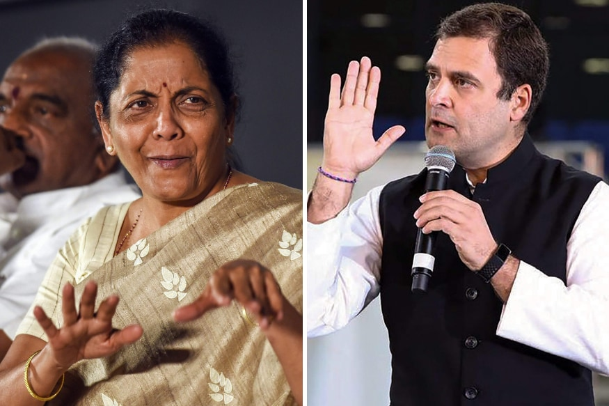 Do Not Impose Your Sexism on Me: Rahul Gandhi Defends Remarks Against Nirmala Sitharaman