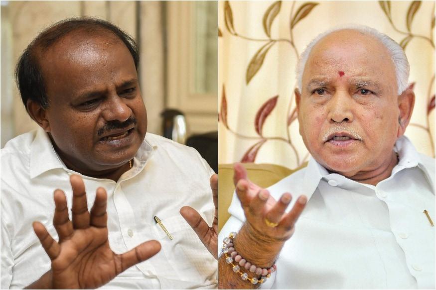 Karnataka Crisis: How JDS Plans to Cash in on Lingayat-Vokkaliga Divide Using BSYs