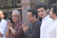 Govinda's Nephew Janmendra Ahuja Dies of Heart Attack, Actor Attends Funeral With Son