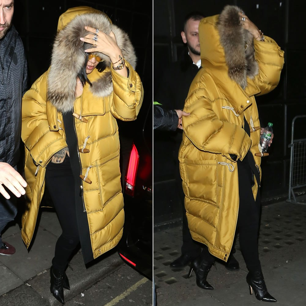 rihanna-burberry-yellow-toggle-coat