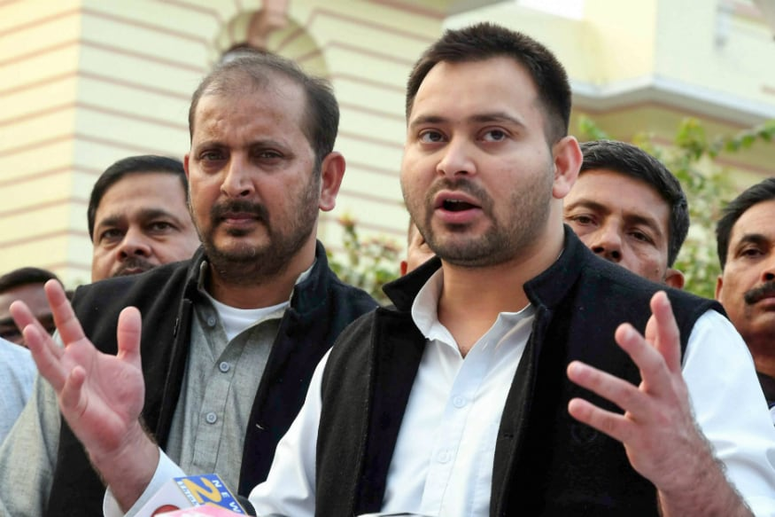 'Child Labour Being Used to Transport EVMs': Tejashwi Yadav Slams Election Commission