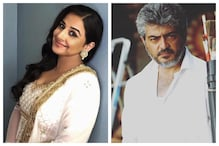 Vidya Balan to Make Her Tamil Debut Opposite South Superstar Ajith in the Remake of Amitabh Bachchan's Pink