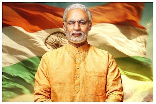 Vivek Oberoi as PM Narendra Modi on the film's poster.
