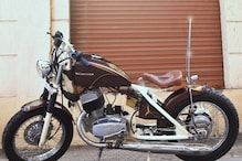 Iconic Yezdi 250 Motorcycle Modified to Get Bobber Style, Retains Retro Character