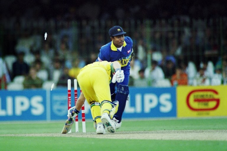 Sri Lanka vs Australia - 1996 World Cup Final (Source: AFP)