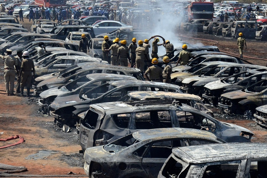60 Vehicles Gutted at Aero India Show Beyond Recognition: Karnataka Home Minister M B Patil