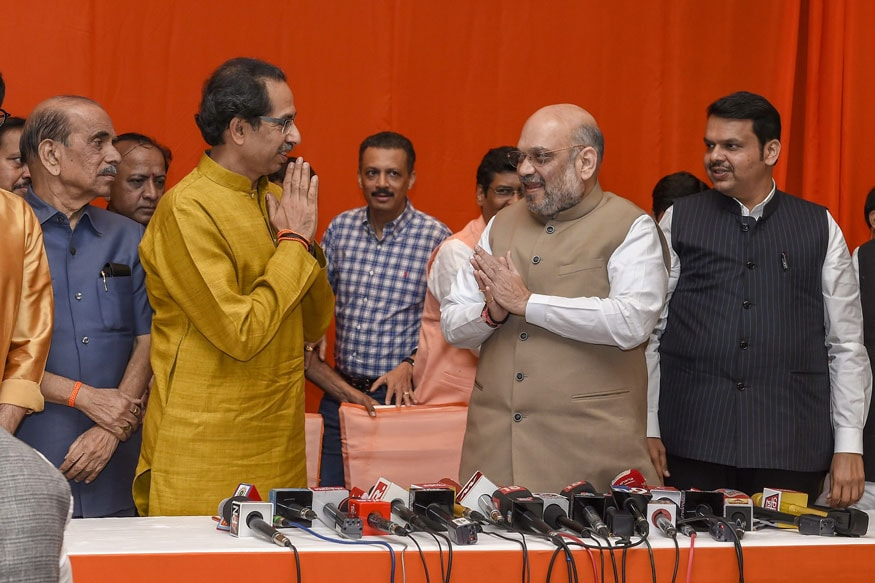 No One Can Save Maharashtra Govt if Those Within Coalition Get Upset and Leave, Says Amit Shah