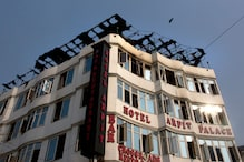 Fire Breaks Out at Hotel Arpit Palace on Karol Bagh in Delhi