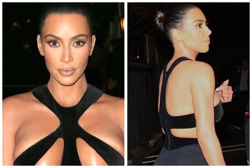 Kim Kardashian Flaunts Her Most Naked Gown From Designer Thierry Mugler's 98' Collection
