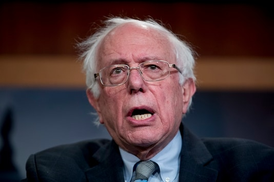 File photo of Bernie Sanders. (AP)