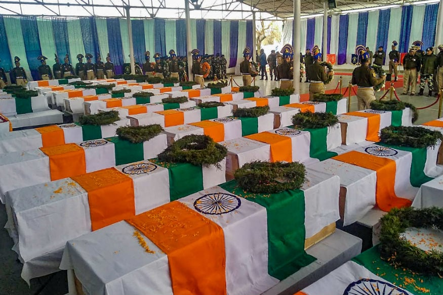 People at Assam's Kalabari Bid Teary Farewell to CRPF Head Constable Killed in Pulwama