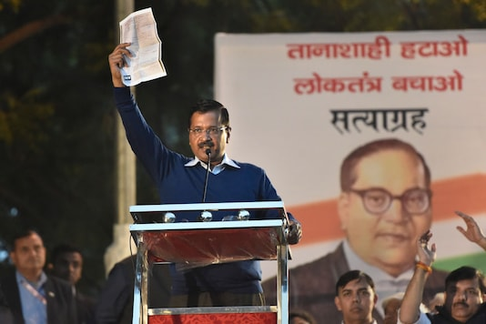 File photo of Delhi Chief Minister and AAP chief Arvind Kejriwal. (Image: PTI)