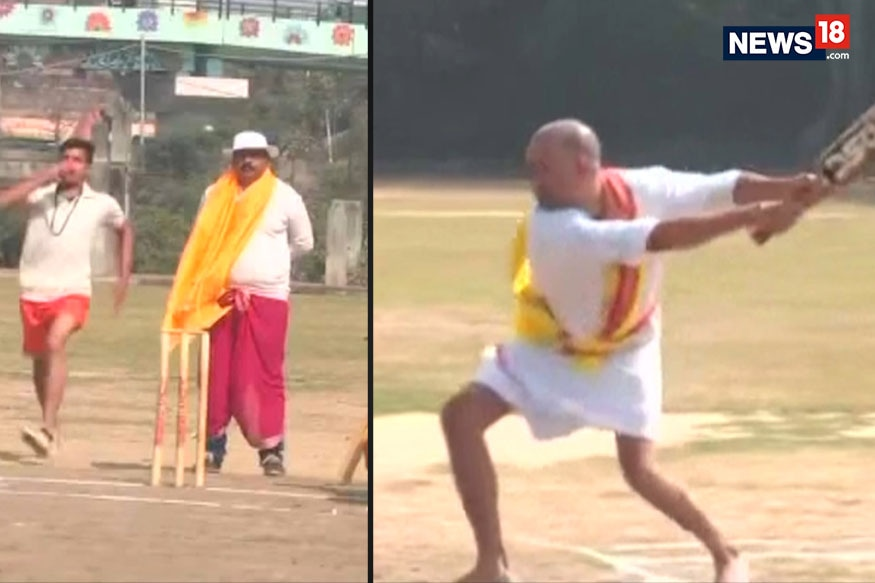 A Unique Game of Cricket, With a Sanskrit Touch