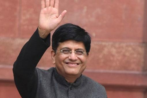 File photo of Railway Minister Piyush Goyal in New Delhi.