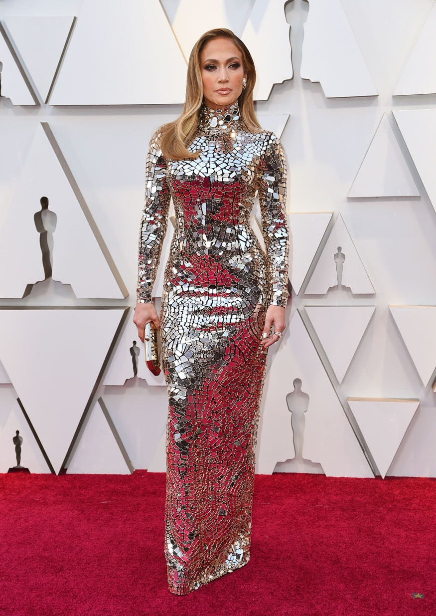 Jennifer Lopez arrives at the 91st Academy Awards in Los Angeles. (Image: AP)