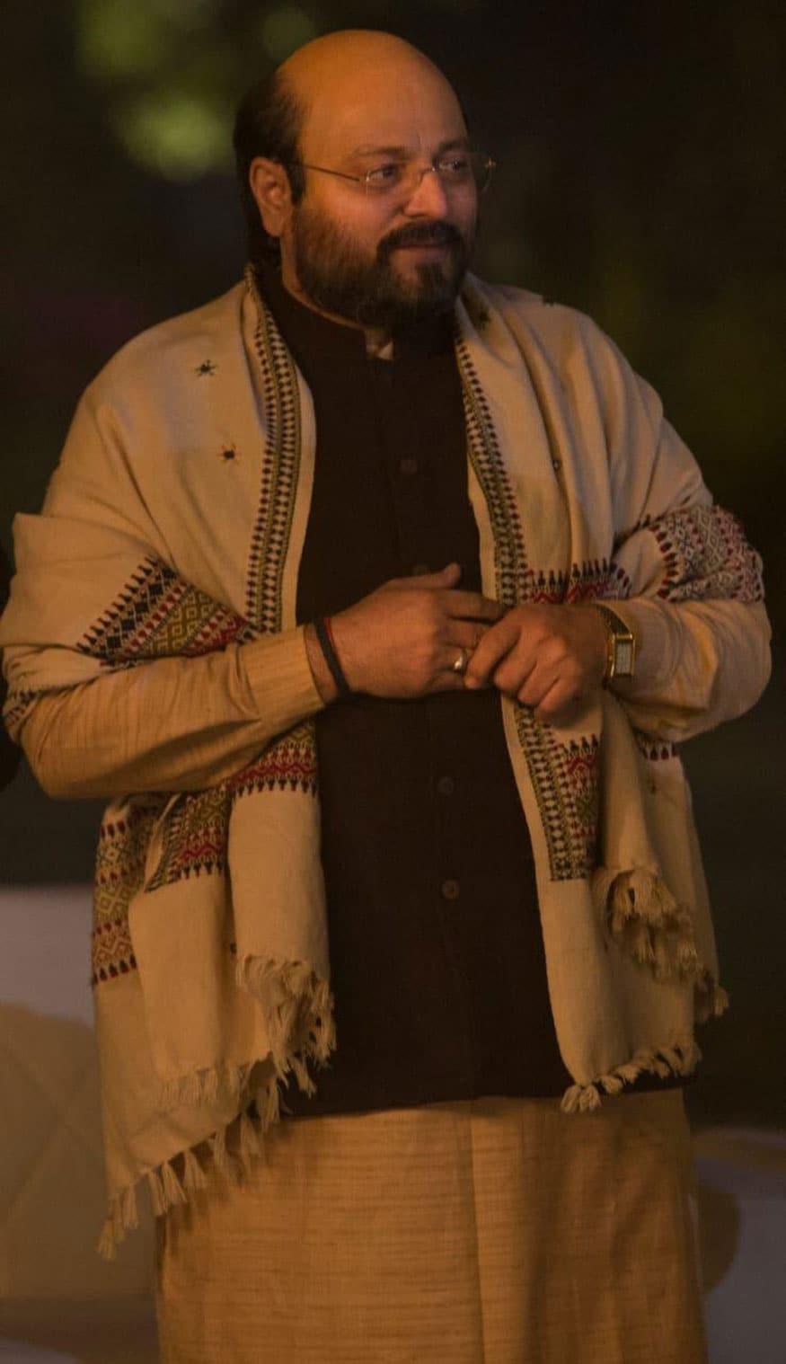Manoj Joshi as Mr Amit Shah in PM Narendra Modi