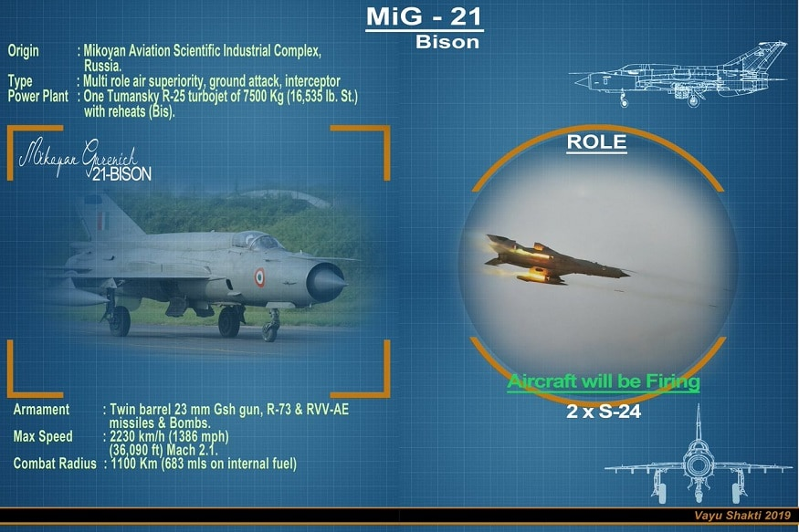 MiG-21 Bison: The Indian Air Force Fighter Jet That Took Down