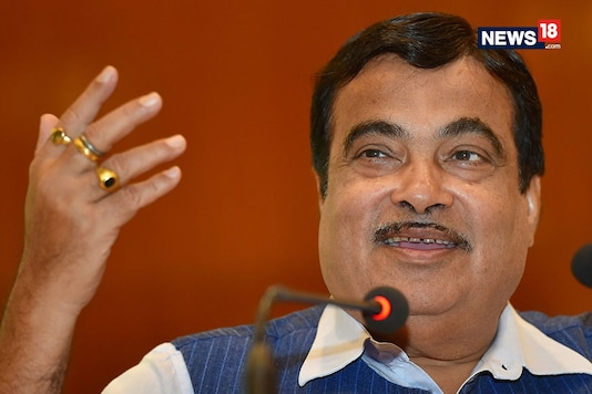 File photo of Union Minister Nitin Gadkari. (Image: New18.com)