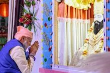 PM Modi in Varanasi: Pays Tribute to Guru Ravidas, Unveils Electric Train