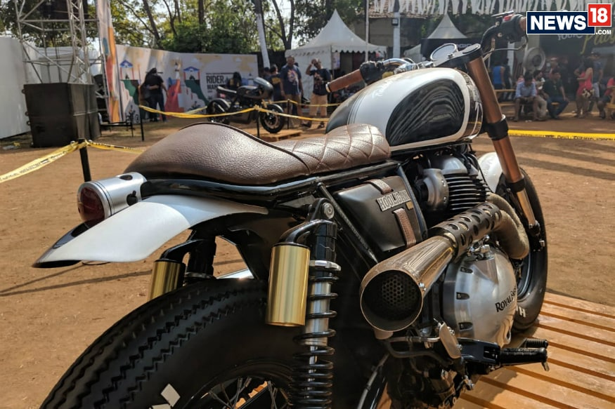 Indias First Modified Royal Enfield Interceptor 650 Looks Drool