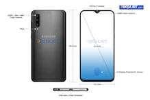 Samsung Galaxy A50 Leaked Renders Reveal Triple Camera, In-Display Fingerprint Scanner