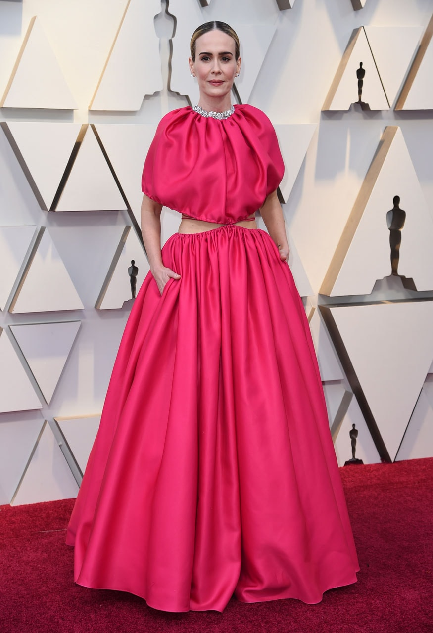 Sarah Paulson arrives at the 91st Academy Awards in Los Angeles. (Image: AP)