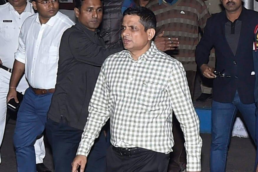 Kolkata Police Commissioner Rajeev Kumar. (PTI)