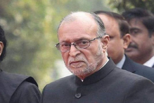 File photo of L-G Anil Baijal. (Image: PTI)