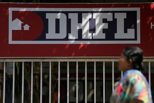 File photo of DHFL logo (Image : Reuters).