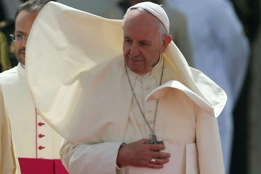 File photo of Pope Francis. (Image: AP)
