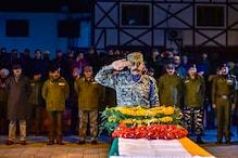 Wreath laying ceremony of Martyr HC Abdul Rashid