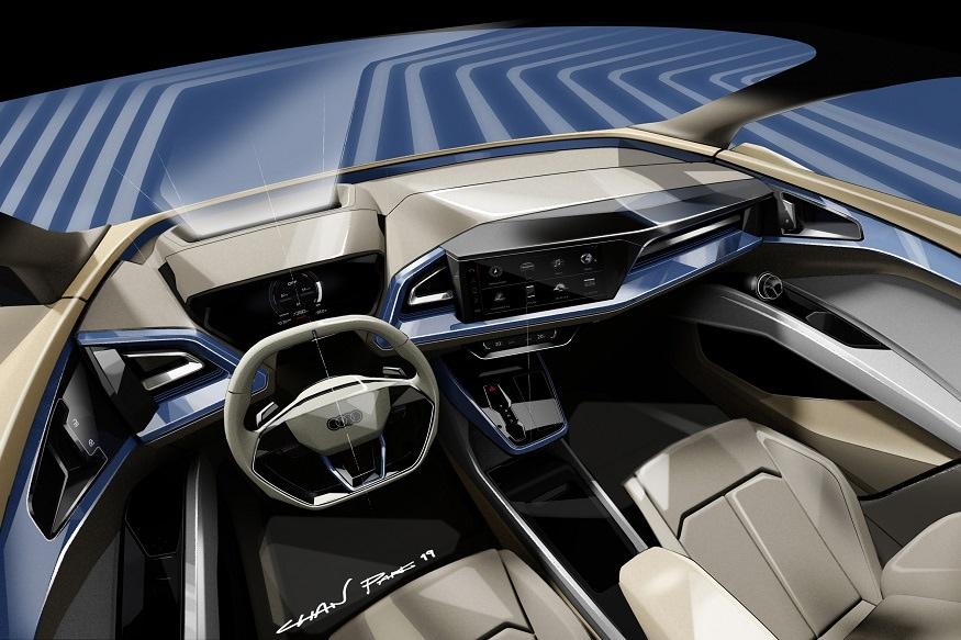 Audi Q4 e-tron concept. (Image: AFP Relaxnews)